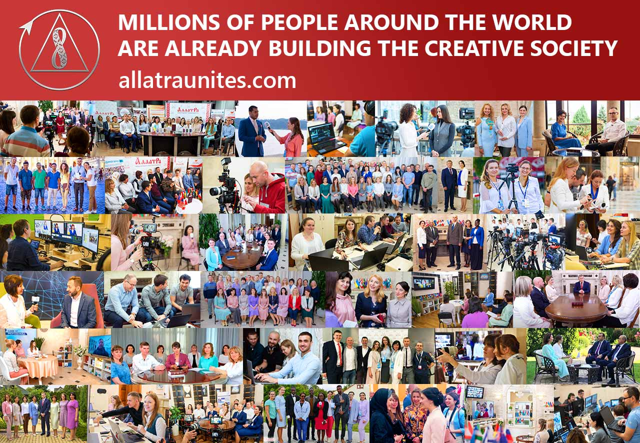 Millionsof people around the world are building the Creative Society