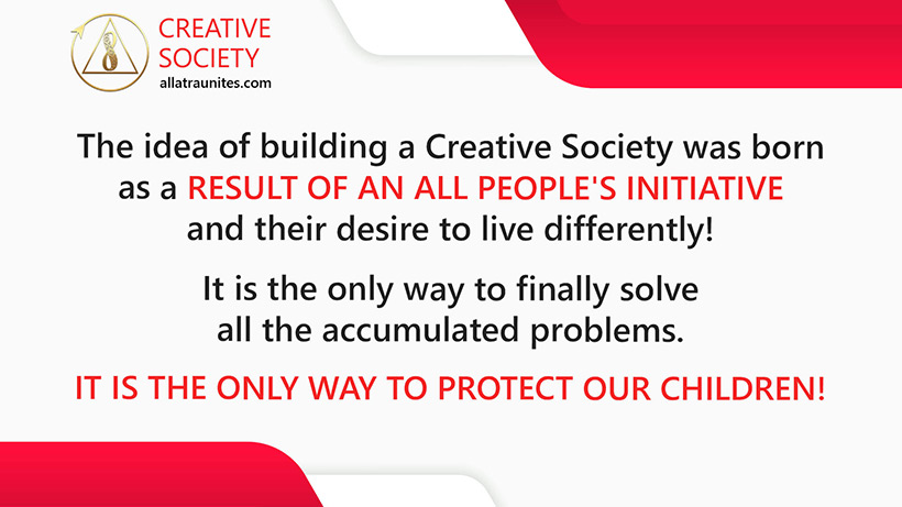 Creative Society is the only way out