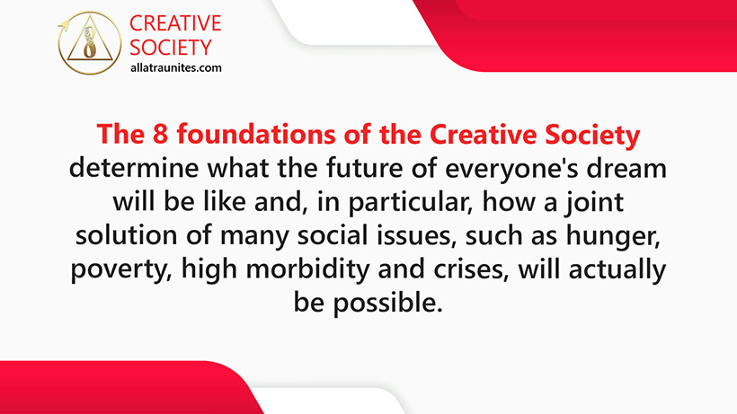 8 foundations of the Creative Society