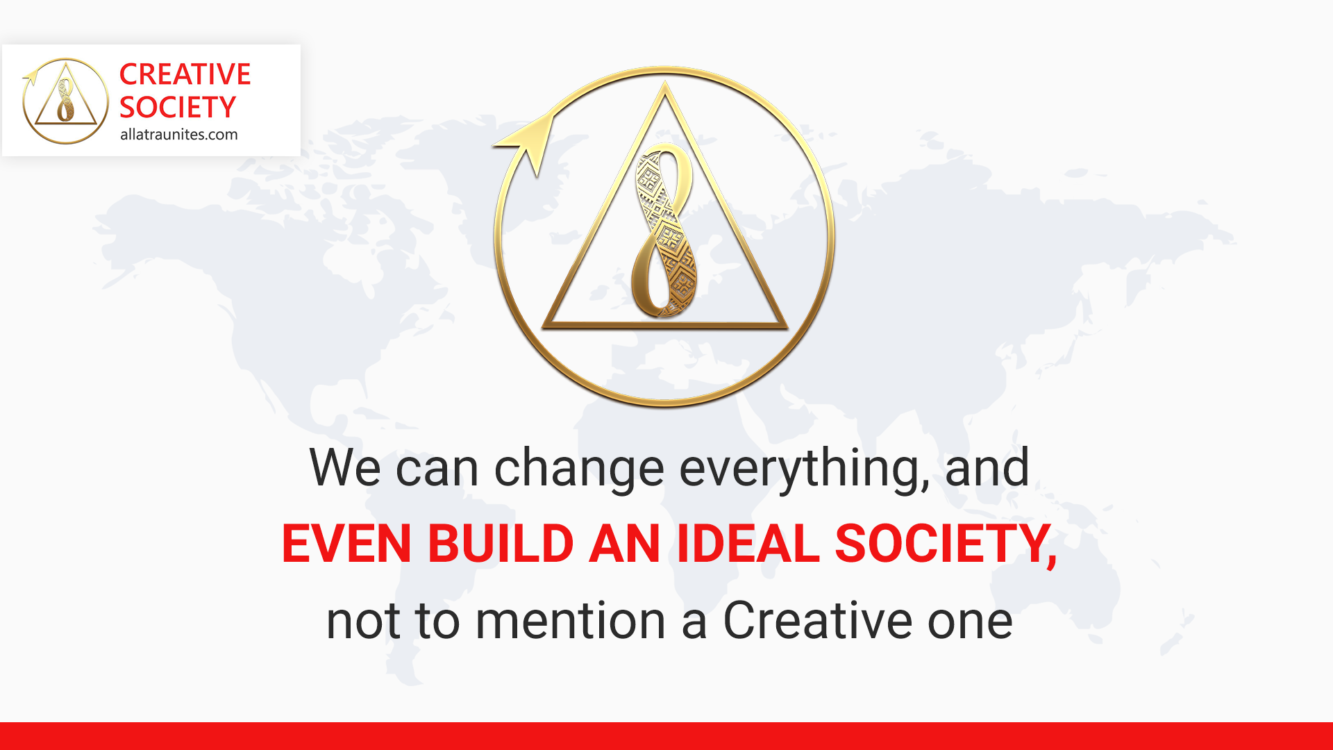 We can change everything