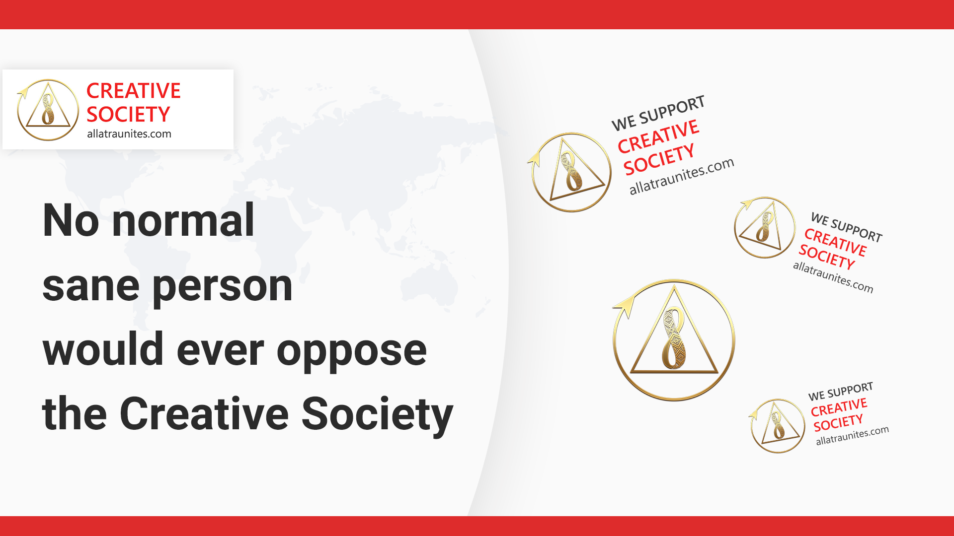 We support the Creative Society