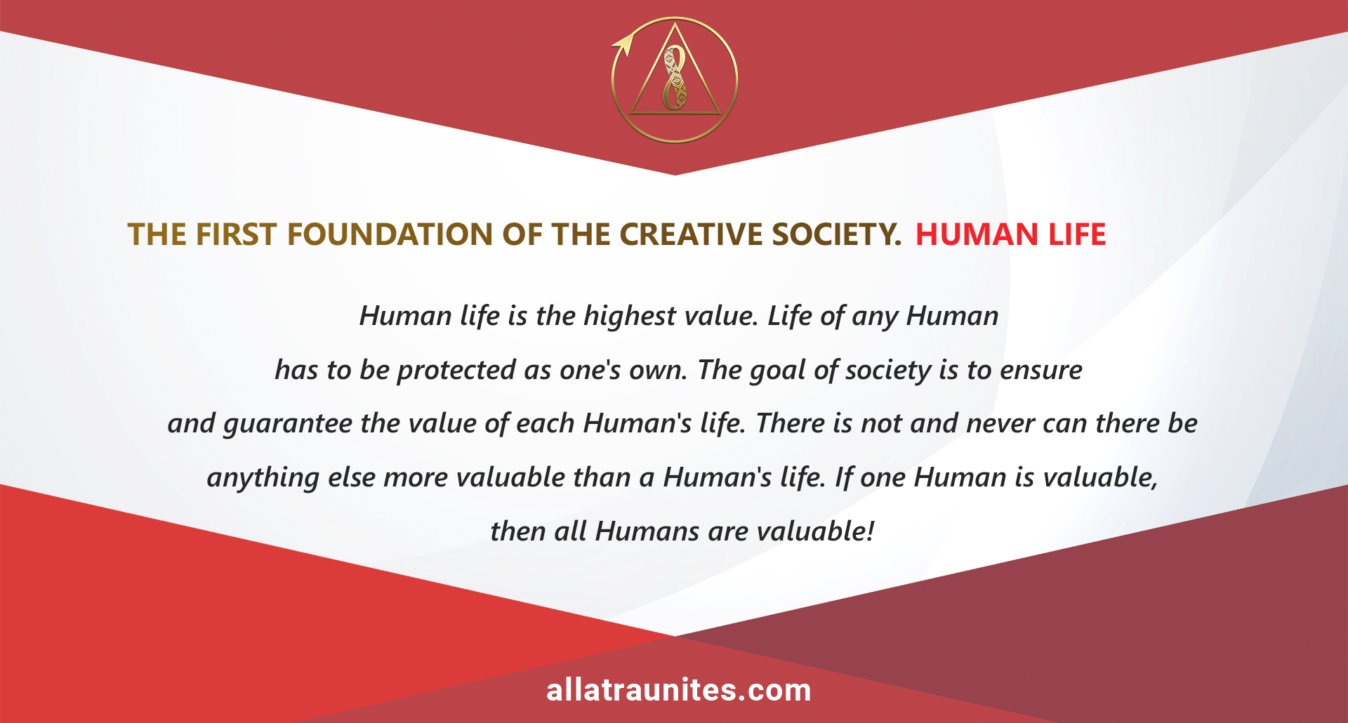 The first foundation of the Creative Society