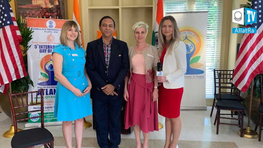 PRESENTATION OF THE PROJECT «SOCIETY. THE LAST CHANCE» IN THE CONSULATE GENERAL OF INDIA