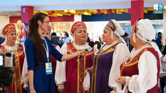 The ALLATRA TV team from Volgograd visited the celebration of Mother's Day