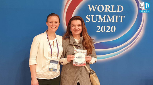 Reportérka ALLATRA TV pozvaná na World Summit 2020