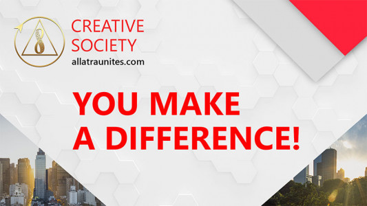 You Make a Difference! Creative Society