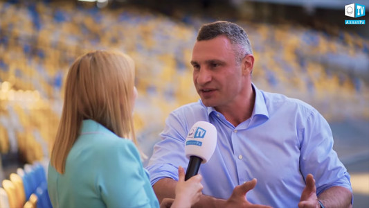 """""""Our task is to change the world for the better"""". Vitali Klitschko for ALLATRA TV at iForum-2021"""
